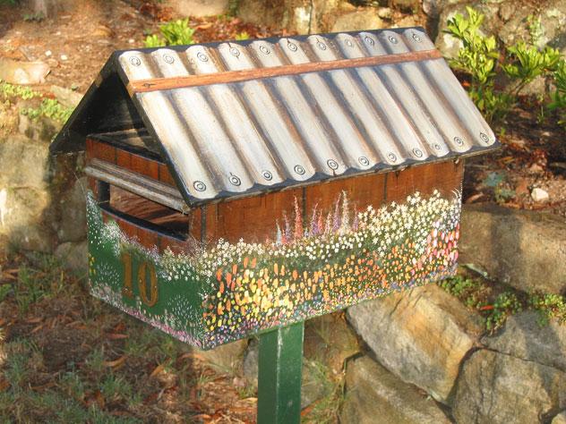 Walk In Garden Box: Surprises Mailboxes Letter
