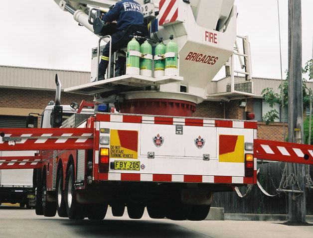 Harris Park Fire Engine Flying W
