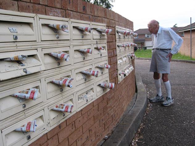 mailbox flyers